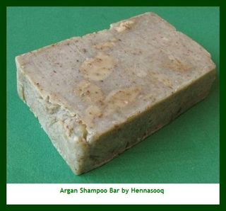 Argan Oil Shampoo Soap